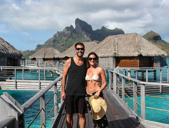 Tim and Amanda - Le Taha'a & Bora Bora